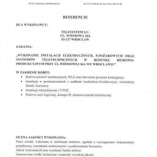 telesystem referencje